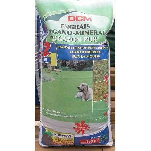 Engrais NPK 8 4 20 DCM Gazon Pur 10kg